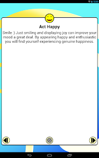 Be Happy! Pro: Happiness tips - screenshot thumbnail