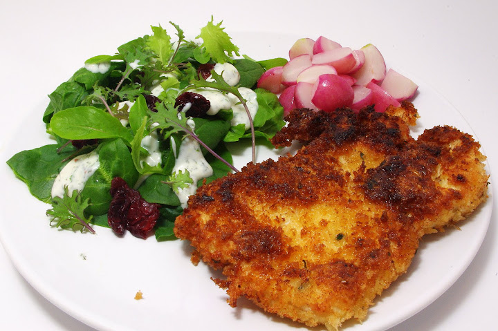 method: breaded, shallow-fried chicken cutlets | squirrel ...