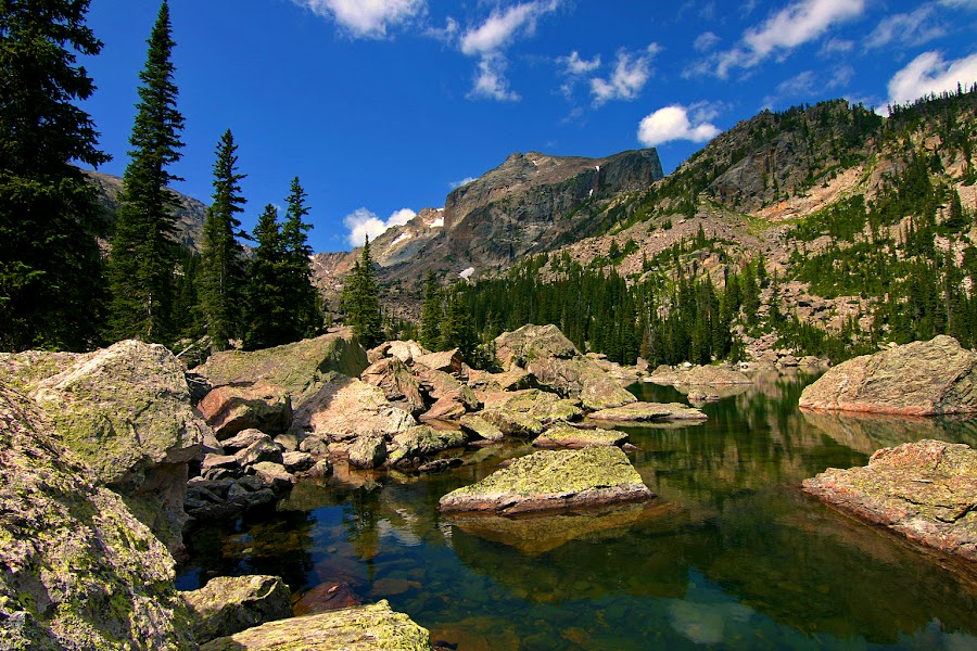 by Todd Yoder - Landscapes Waterscapes ( clouds, water, mountains, nature, landscape, pond )
