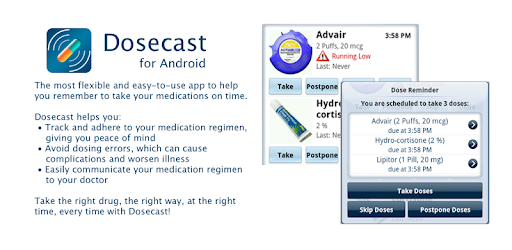 dosecast medication reminder apps on google play