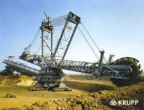 World Biggest Digging Machine by Krupp 00