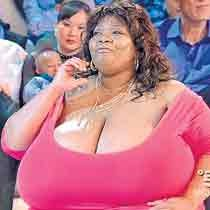 World's Largest Natural Breasts (Norma Stitz) 01