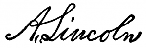 Abraham Lincoln's Signature