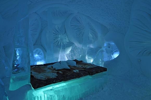 Szwecja - hotel z lodu