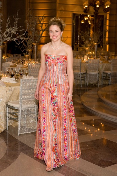 Marissa Mayer (in Naeem Khan & jewelry by Graff)