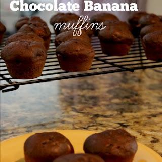 Mini Chocolate Banana Muffins