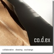 co.d.ex collaborative drawing exchange - check this new startup