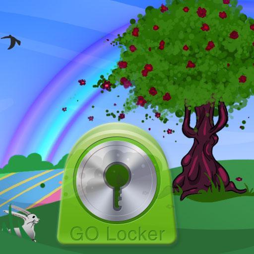 GO Locker Theme Spring Buy 個人化 App LOGO-APP試玩
