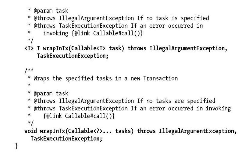Transaction (Enterprise JavaBeans 3 1)