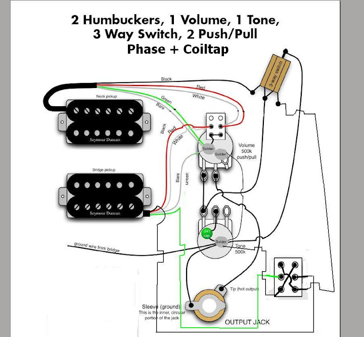 prs se schematics 1 volume 1 tone wiring diagram