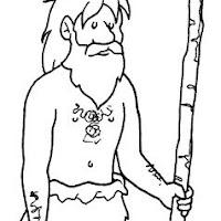 La Prehistoria Laminas Para Pintar