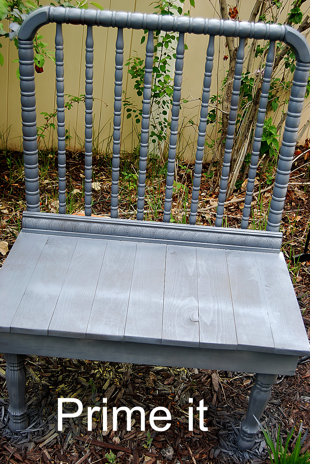Bench Made From Old Baby Crib Cheap Online
