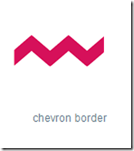 chevron border