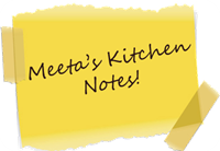 Sticky Note Kitchen Notes
