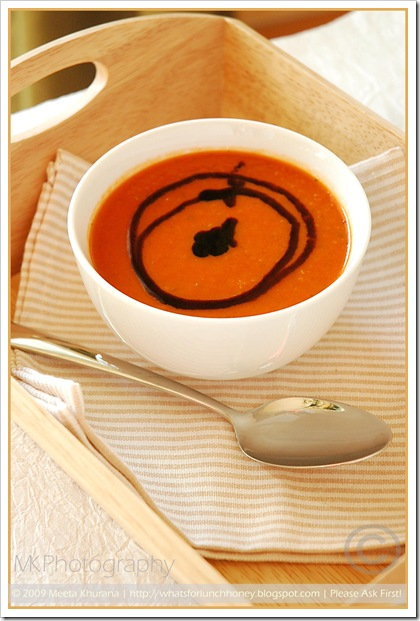 Roasted Tomato Pepper Soup (01) by MeetaK