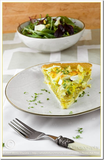 Potato Brie Quiche (2) by MeetaK