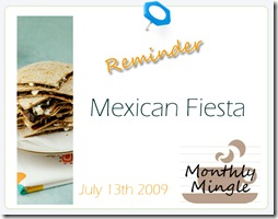 Monthly Mingle MexicanFiesta
