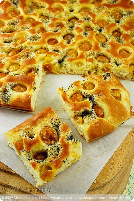 Mirabelles Lemon Poppy Seed Foccacia (02) by MeetaK