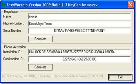 Easyworship 2006 Crack Download - creationsvoyagernow's blog