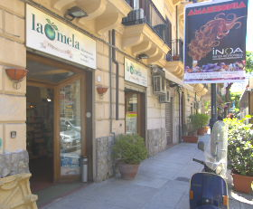 Sizilien - Addiopizzo - La Mela - Mafia-freier Bioladen