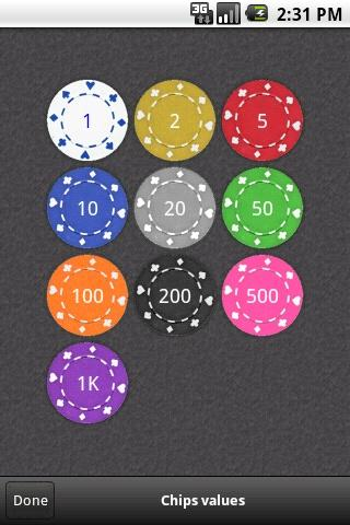 Poker Director Beta - screenshot