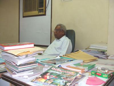 Gijubhai Bharad in office