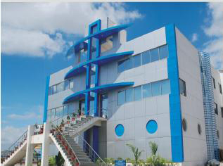 Building of his company EPP Composites Pvt. Ltd.