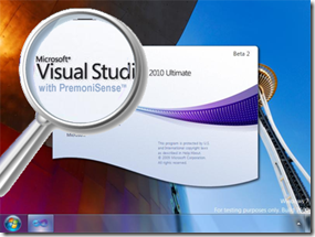 Visual Studio 2010, with Premonisense!