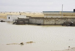 Floods in Central Sinai