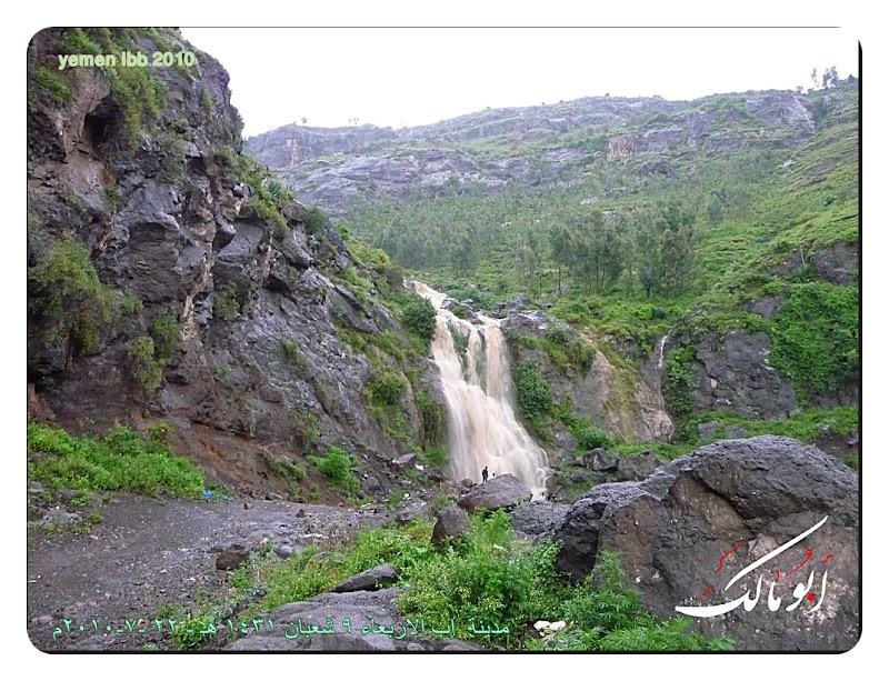 14 شلالات نياجرا إب صيف  شلالات اليمن السعيد  خيال