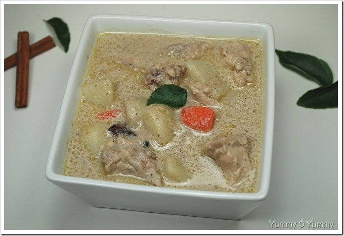 Nadan Chicken Stew