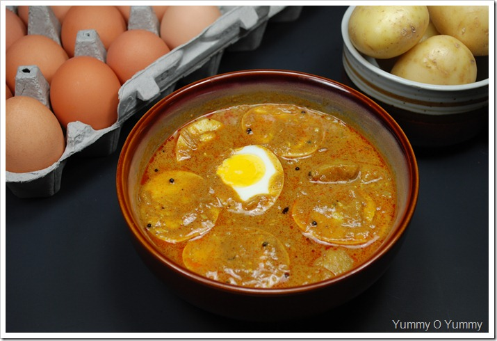 Egg - Potato Curry