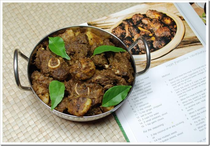 Meat Pattichu Varuthathu