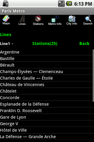 Paris Metro - screenshot