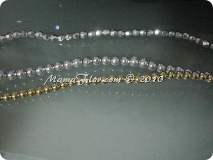 Angelito de Perlas para el Arbol Navideño 0234