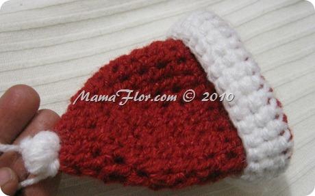 Gorro Tejido Crochet Santa Claus Papa Noel - IMG_0252