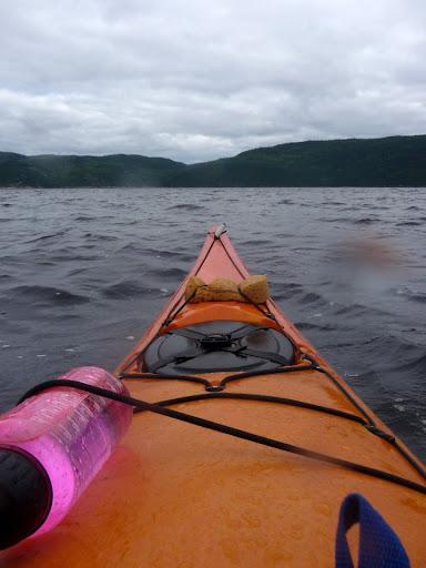 xavinoo le kariboo  le fjord du saguenay en kayak