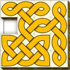 Oxvo, celtic slide puzzle icon