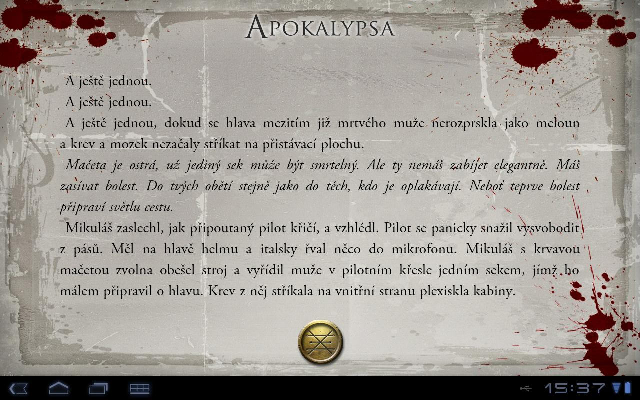 Apokalypsa CZ- screenshot