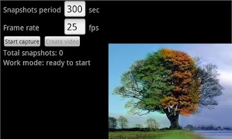 Screenshot of Time Lapse Video Render
