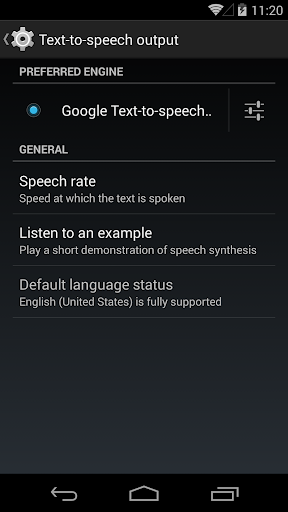 Google 文字轉語音