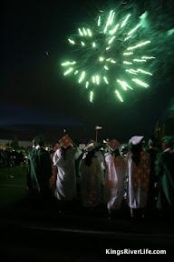 graduation night fireworks