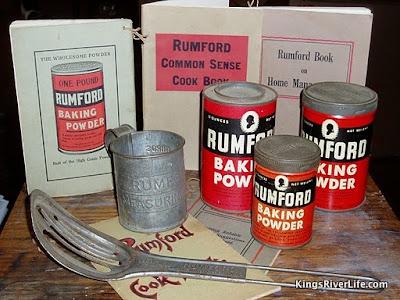 Rumford baking miscellany