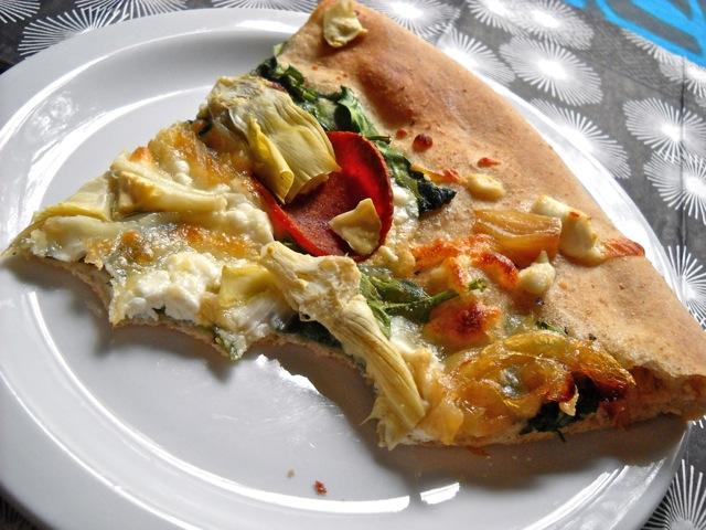 eaten greek pizza