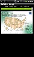 Screenshot of Flu News