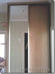небольшой встроенный шкаф купе в коридор