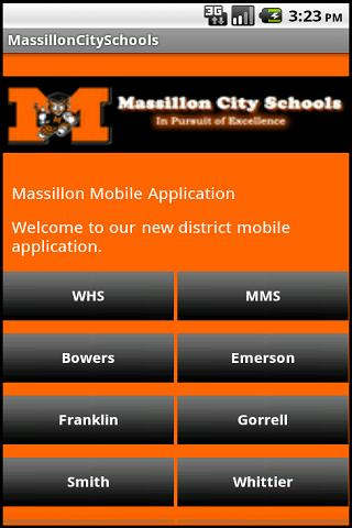 Massillon City Schools- screenshot