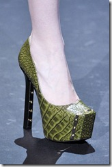 Christian Siriano AW 11 Green Pump ShoesNBooze