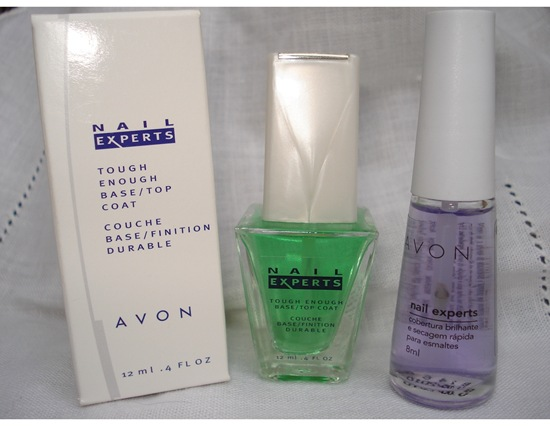 Comparando Top Coat Avon USA e Avon Brasil