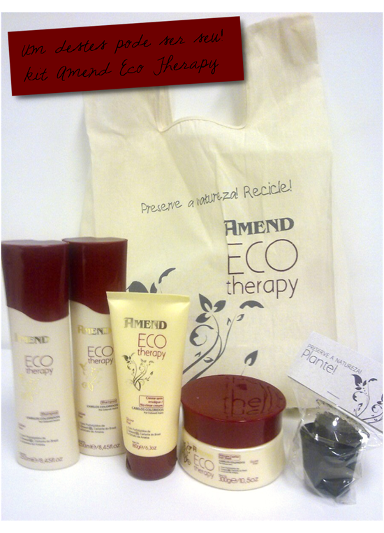 Amend Eco Therapy Sorteio
